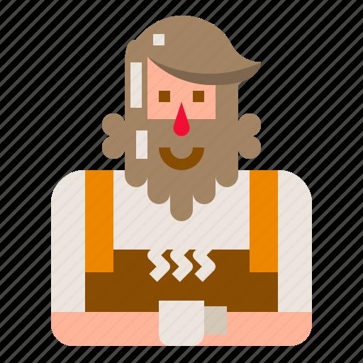 Avatar, barista, hipster, man, owner, shop icon - Download on Iconfinder