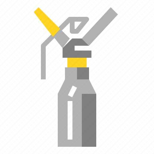 Bottle, cream, vacuum, whipper icon - Download on Iconfinder