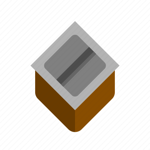 Box, coffee, knock, powder, trash, waste icon - Download on Iconfinder