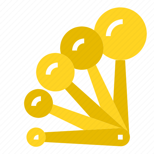 Cookware, ingredients, measuring, mixed, ratio, spoon icon - Download on Iconfinder