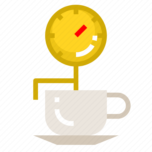 Coffee, cup, hot, temperature, thermometer icon - Download on Iconfinder