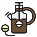 coffee, drink, hot, kettle, pot, tea icon