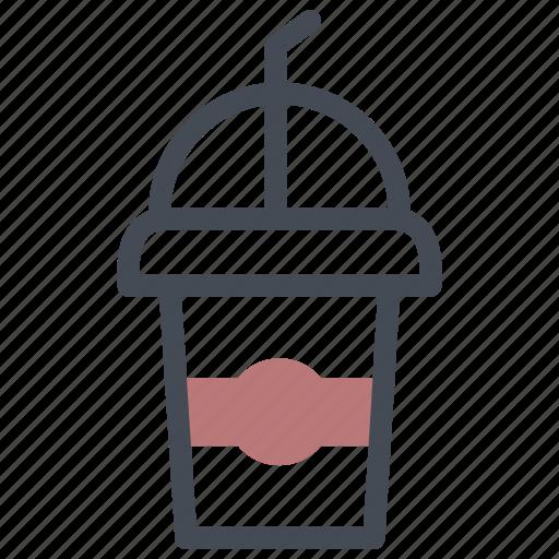 coffee, coffee shop, ice icon