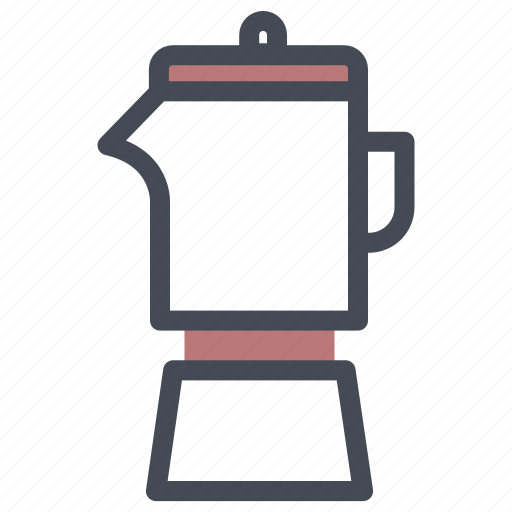 coffee, grinder, maker icon