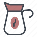 coffee, maker, shop icon