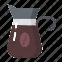 coffee, maker, shop icon