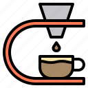 business, cafe, coffee, counter, drip, people, shop icon