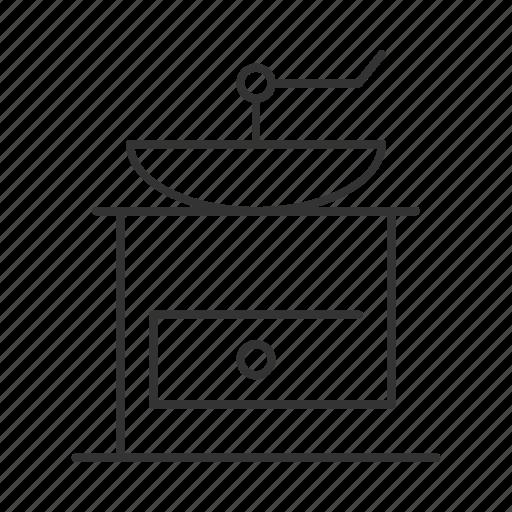 appliance, barista, coffee, grinder, kitchen, roast, roaster icon