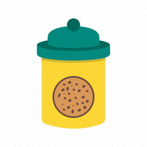 biscuit, chocolate, cookie, dessert, food, jar, sweet icon