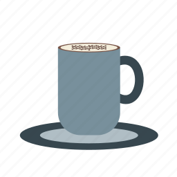 brown, cafe, cappucino, coffee, cup, espresso, latte icon