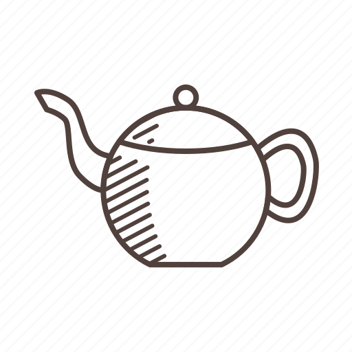 coffee, cup, drink, line, outline icon