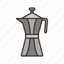 cofee purer, coffee, drink, pour icon icon
