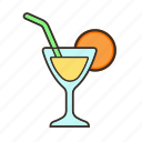alcohol, cold drink, drink, juice icon icon