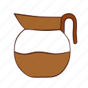 coffee, kitchen, pot, tea, water icon
