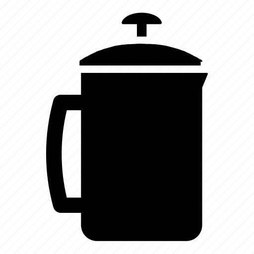 beverage, beverages, brew methods, coffee, french, frenchpress, press icon