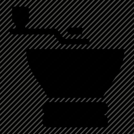 Beverage, beverages, coffee, coffeeshop, grinder icon - Download on Iconfinder