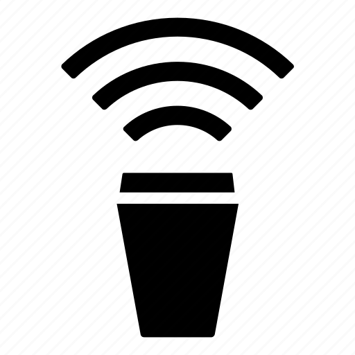 coffeehouse, communication, connection, internet, signal, wifi, wireless icon