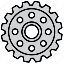 cog, cogwheel, gear, mechanism, options, settings, wheel icon