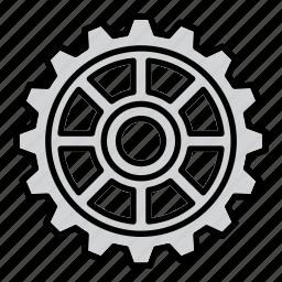 cog, cogwheel, gear, mechanism, preferences, settings, wheel icon