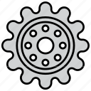 cog, cogwheel, gear, mechanism, preferences, settings, wheel icon