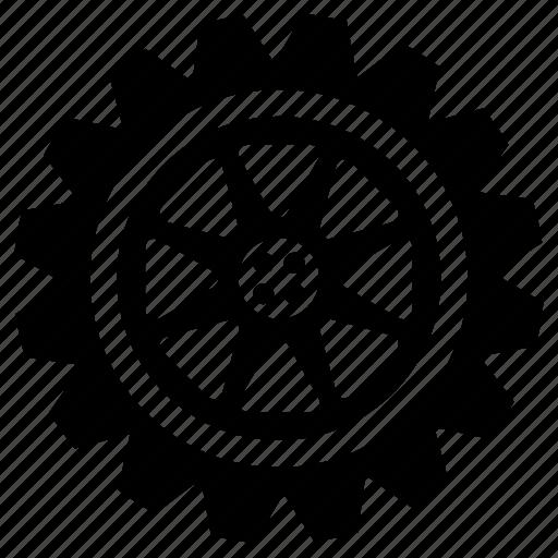 cog, cogwheel, engine, gear, mechanism, shape, wheel icon