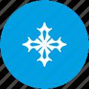 frost, nature, ornament, snow, winter icon