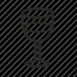 alcohol, bar, glass, kitchen, wine, wineglass icon