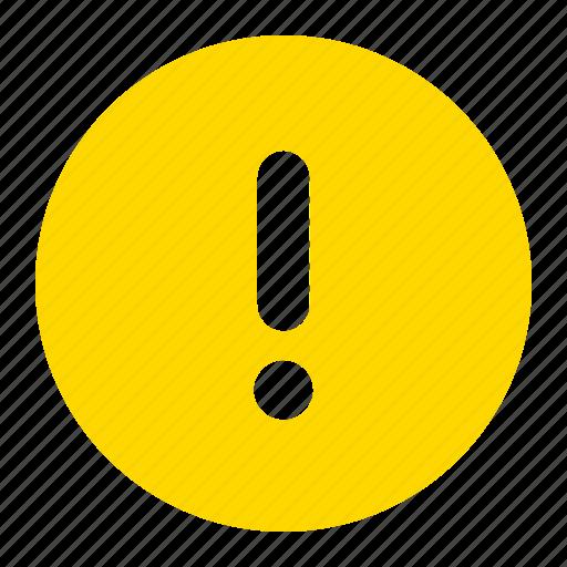 alert, danger, error, exclamation, mark icon