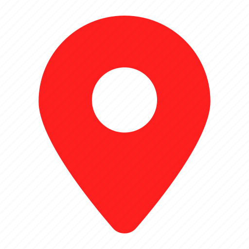 address, gps, location, map, marker, navigation, red icon