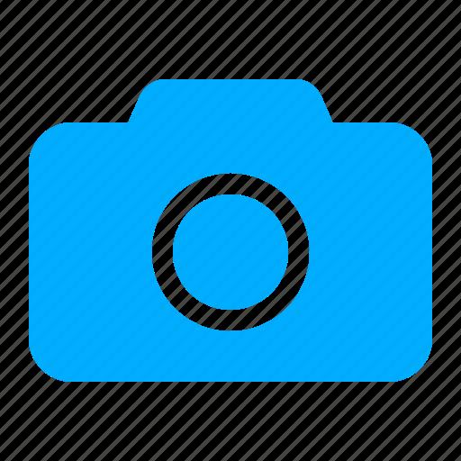 blue, camera, digital, photo, photographer icon