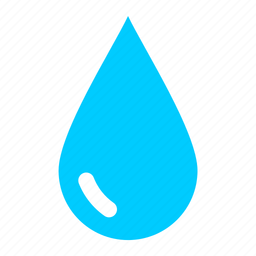 aqua, blue, drop, oil, rain, water icon