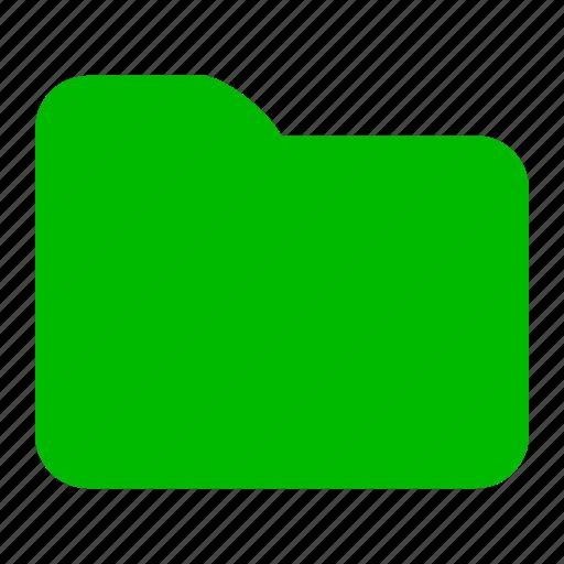 album, file, files, folder, green icon