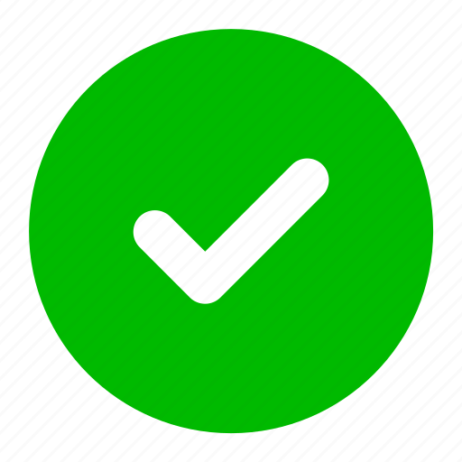 accept, check, green, ok, success, tick, yes icon