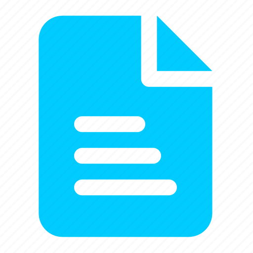 blue, doc, document, file, office, text, word icon