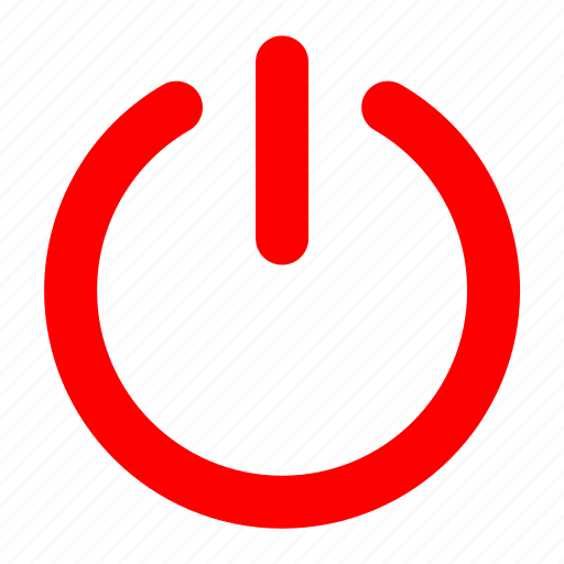 power, power off, power on, turn off, turn on icon