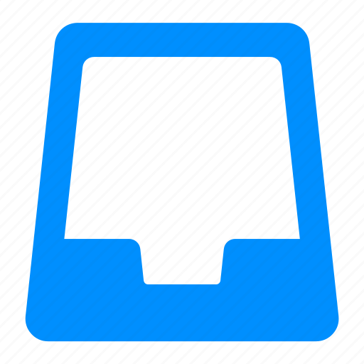 archive, blue, box, files, project icon