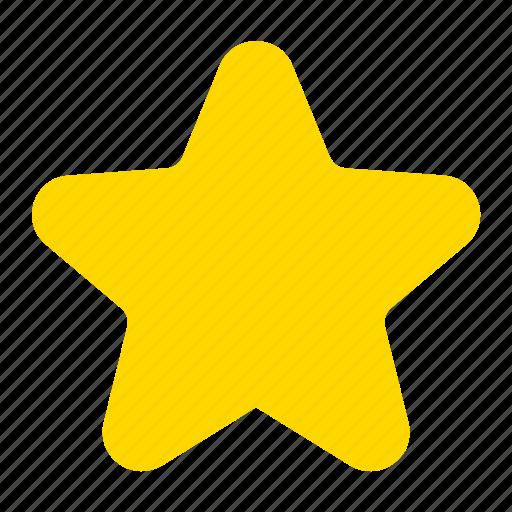 bookmark, favorite, featured, star icon