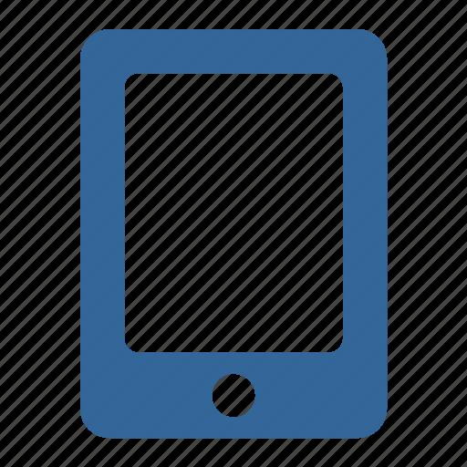 apple, blue, device, ipad, tablet icon