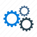 engine, options, gears, settings icon