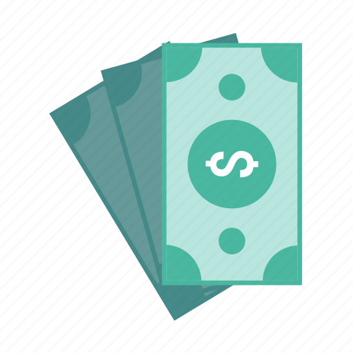 banknote, cash, dollar, finance, money icon