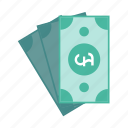 banknote, cash, finance, money, pound icon