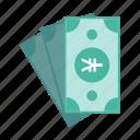 banknote, cash, finance, money, rmb, yuan icon
