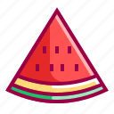 flavor, fruit, fruits, tropico, watermelon icon