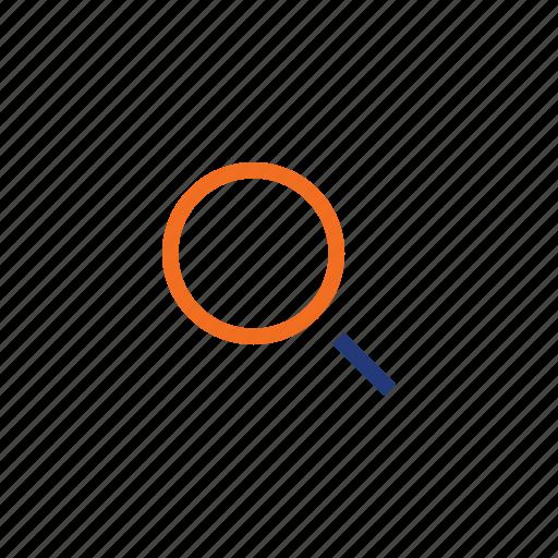 color, glasses, homepage, indigo, orange, reading, search icon