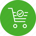 basket, cart, ecommerce, shopping, shopping cart, successful