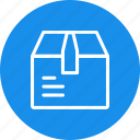 box, cart, delivery, package, shipping, shopping icon