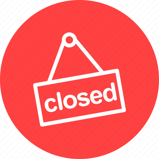 buy, closed, ecommerce, hours, shop, shopping, store icon