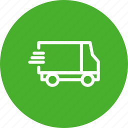 delivery, express, fast, shipping, shopping, transport, van icon