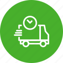 delivery, express, fedex, instant, shipping, transport, van icon