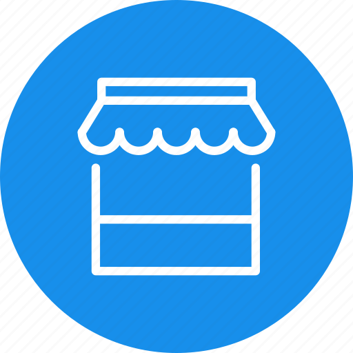 market, marketplace, sell, shop, shopping, store, webshop icon